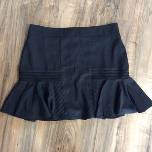 Never Worn Black Skater Mini Skirt Size Large